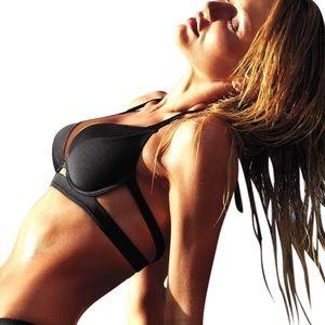 Victoria's Secret double banded hottie halter 34B